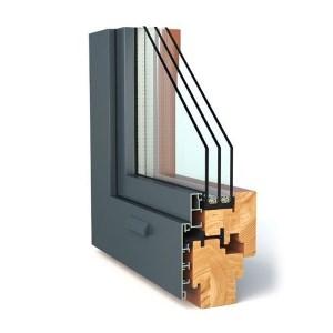 купить Дерево-алюминиевые окна