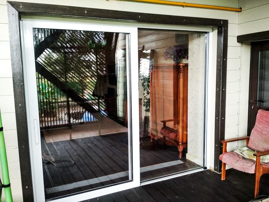 сдвижные панорамные двери
