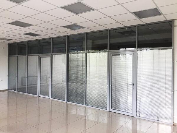 офисные перегородки и двери